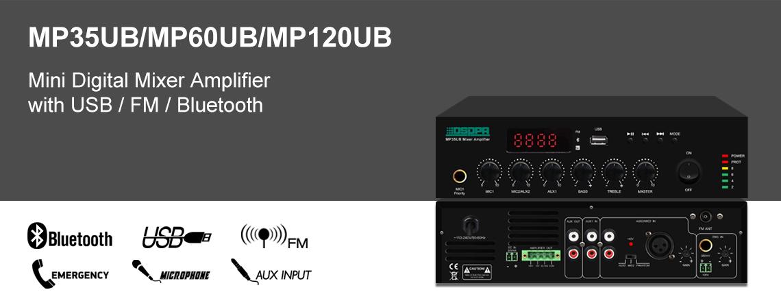 MINI digital Mixer Amplifier
